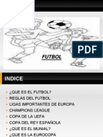 deportes el futbol