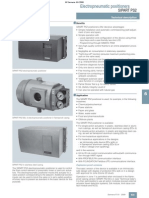 Positioner Catalogue