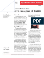 Prolapse, types and managment