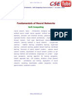 02 Fundamentals of Neural Network - CSE TUBE
