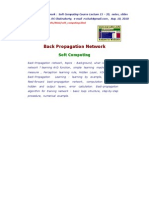 03 Back Propagation Network