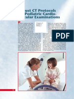 Protocol MSCT 16 for Pediatric Cardiovasc