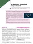 Haemodynamic and Ventilator Management in Post Arrest