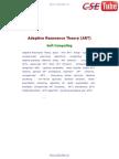 05 Adaptive Resonance Theory ART - CSE TUBE