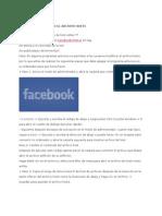 En Facebook Editando El Archivo Hosts