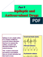 antiepileptic and anticonvulsant