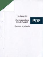 Lazovic-Fundiranje
