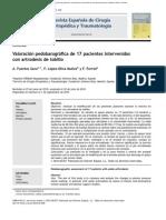 Artrodesis de Tobillo