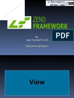 Views in Zend MVC Framework – PHP Tutorial 3