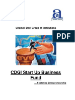 CDGI Startup Business Fund - Initikb.,al Document