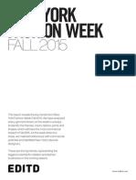 Editd Nyfw Fall 2015 Report