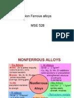 Non Ferrous Alloys