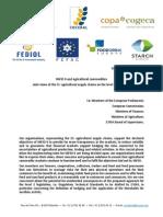 Mifid II a Poľnohospodárske Komodity (Regulácia Finančných Operácií) 23.04.2015