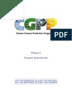 cgpp phase3 project summaries