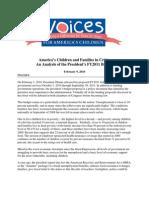 FY11Budget AnalysisVoices