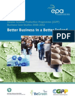 cleaner greener production programme (cgpp4&5) business case studies 2008-2012