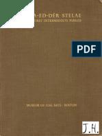 Dunham D. Naga-ed-Der Stelae of the First Intermediate Period (1937)