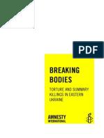 Rapport Amnesty Oekraïne