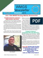 WMGS 2015 Summer Newsletter