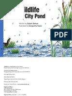 Wildlife in a City Pond