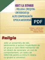 Proiect , religiile