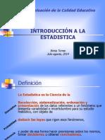 Introducción a La Estadistica I