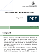 Urban Traddansport Initiatives in Odisha