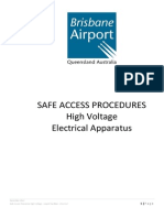 BAC HV Access Procedures