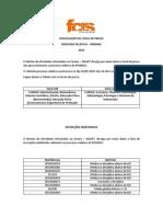 Divulgação Do Local de Prova e Inscrições Indeferidas do PROMAC 2015