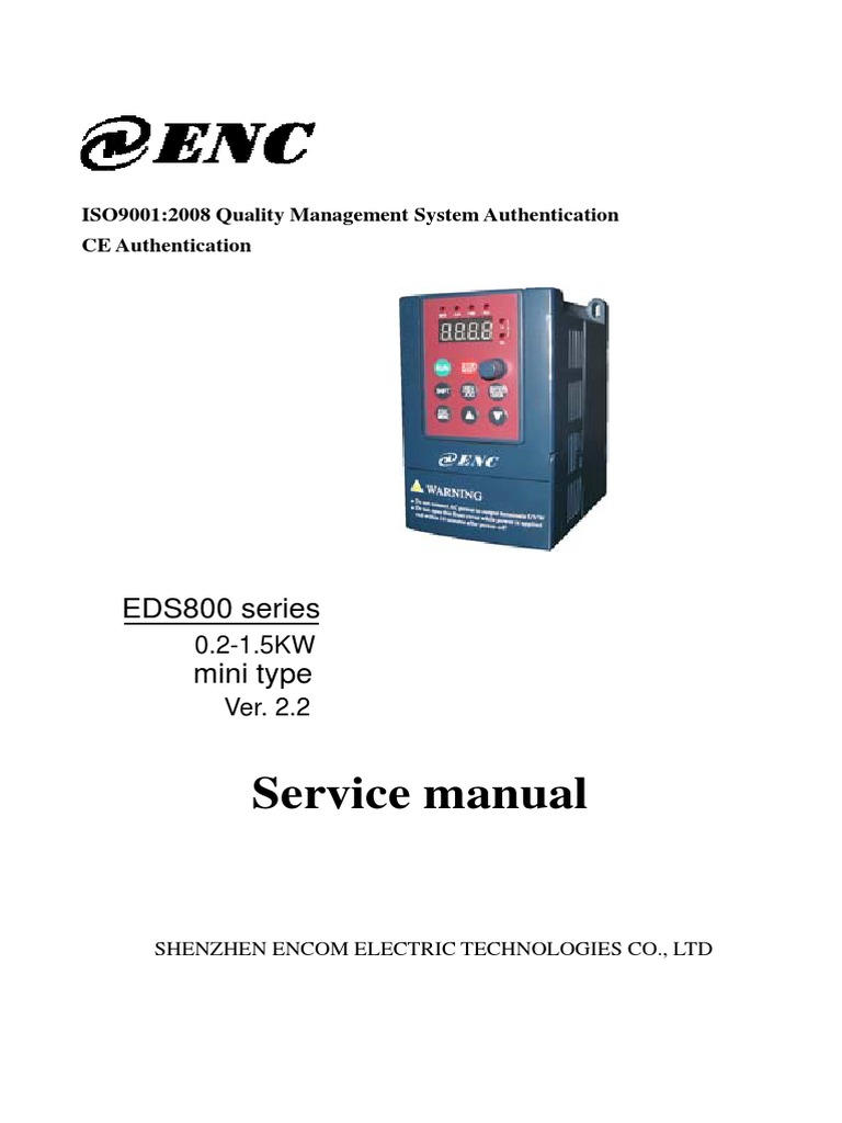 Eds800 Manual Power Inverter Power Supply