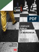 L'Espace Public Et Le Marcheur