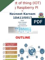 Raspberry Pi IOT
