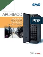 Catálogo de Nobreaks Archimod Da SMS