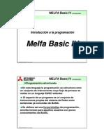 Programacion MELFA IV