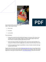 Cara Membuat Kotak Pensil Dari Stik Es Krim