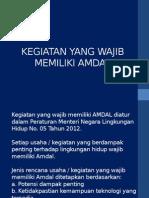 2. Kegiatan Wajib AMDAL