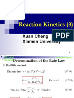 Reaction Kinetics(3)
