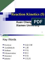 Reaction Kinetics(5)