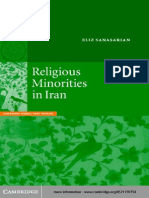 IRAN Religious Minorities in Iran Book