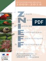 Plaquette ZNIEFF Web