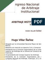 Arbitraje Institucional y Ad Hoc