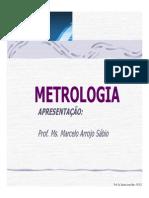 Apresentação metrologia
