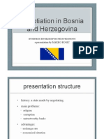 Business English for Negotiations in Bosnia