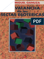 Ganuza, J.M.-la Avalancha de Las Sectas Esotericas