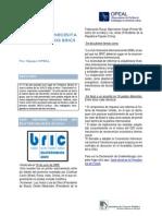 Resumen Cronológico de Acuerdos en Las Cumbres BRICS Desde Su Fundación (2009-2014)
