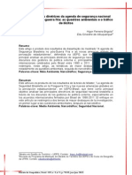 As principais diretrizes da agenda de segurança nacional brasileira no pós-guerra fria