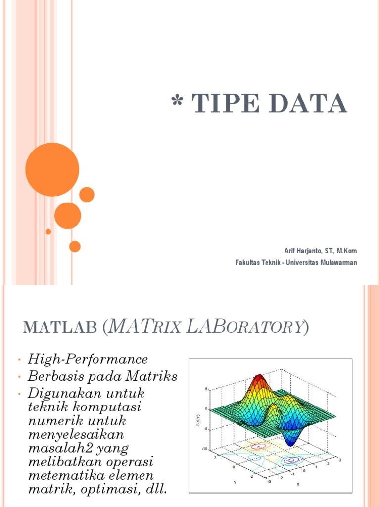 1557299012?v=1 - Jenis Dan Tipe Data Dalam Matlab