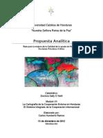 Ruta de Honduras Para Una Eficaz Ayuda de La Cooperacion Externa