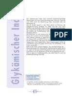 Glykaemischer Index