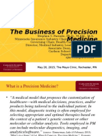 The Business of Precision Medicine